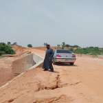 SITE INSPECTION BY DUE PROCESS TEAM OF ENGINEERS INSPECTING THE CONSTRUCTION OF ROAD AT MALALA – ZAUNE - DUKKUYEL